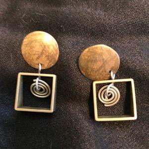Jewelry - boho handmade artist earrings